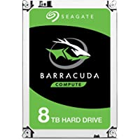 8TB Seagate Barracuda 3.5 pulgadas Sata Serial ATA III 6GB disco duro interno. 5400 RPM.