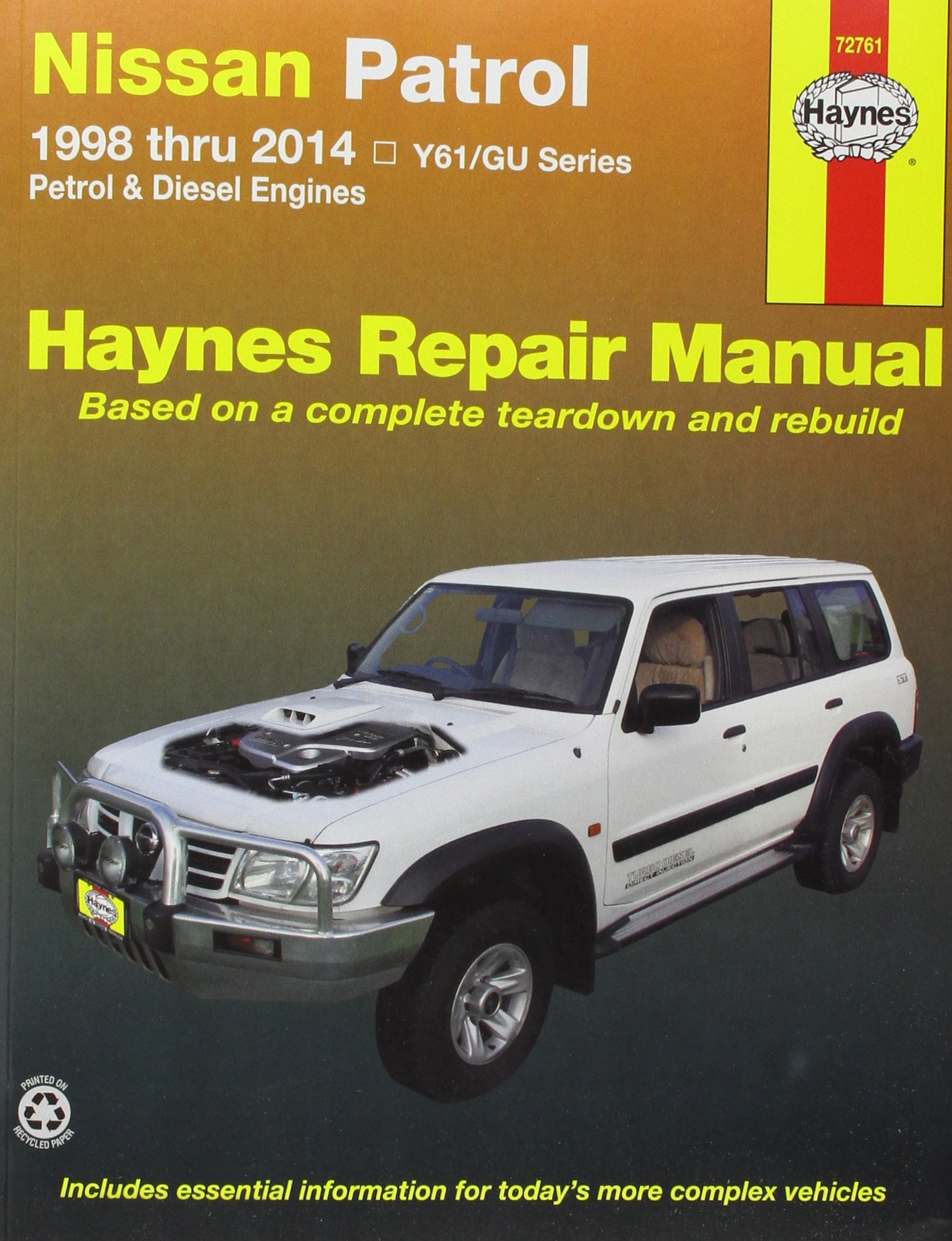 Nissan patrol aus 98 14 9781620921142 amazon books fandeluxe Gallery