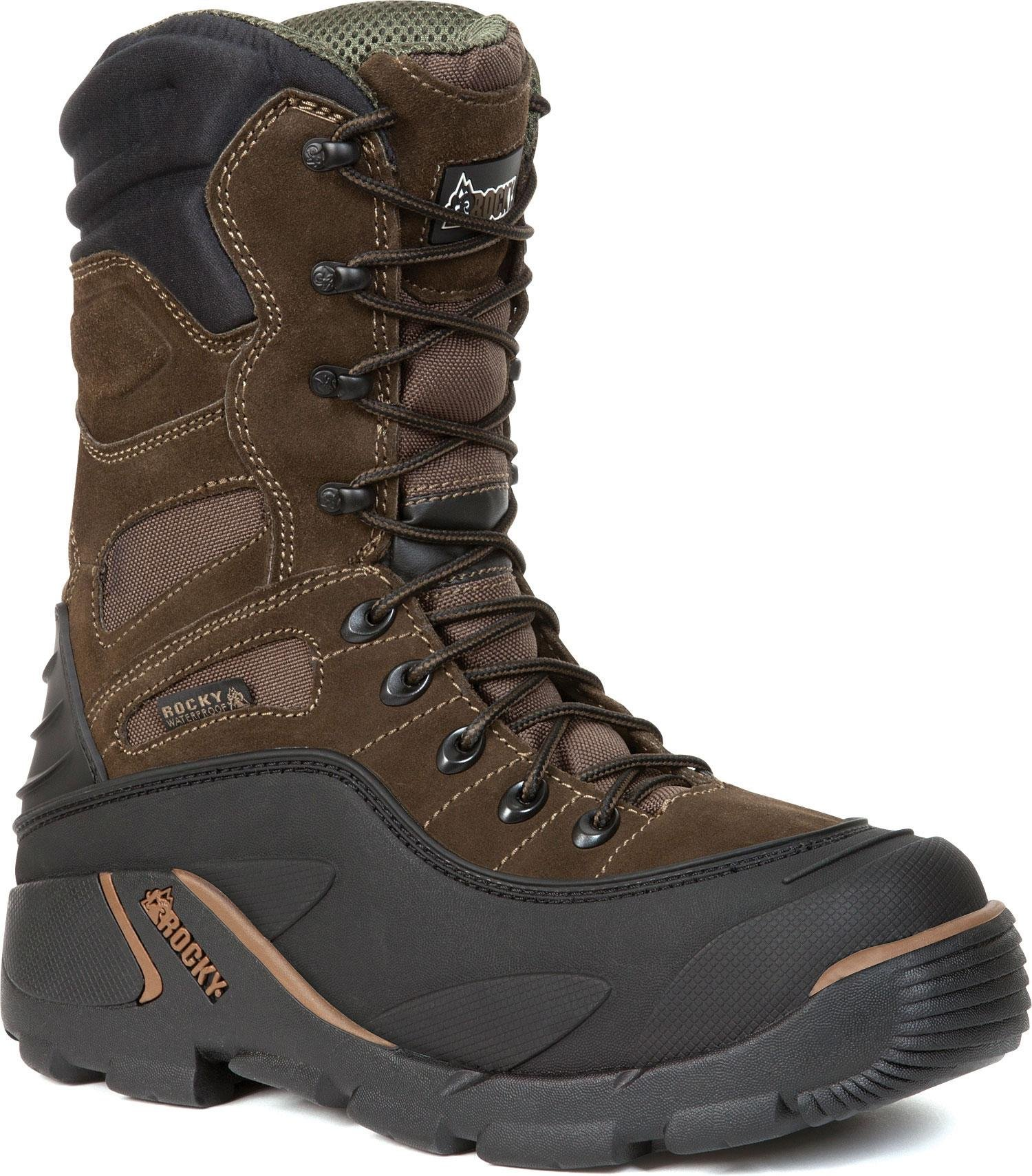 Rocky Men's Blizzard Stalker Pro Hunting Boot,Brown/Black,13 M US by ROCKY