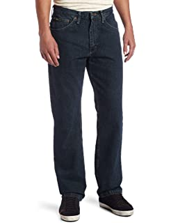 55ec11bf LEE Men's Regular Fit Straight Leg Jean at Amazon Men's Clothing store: