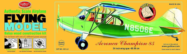 Guillow's Aeronca Champion Balsa Model Airplane Model Kit