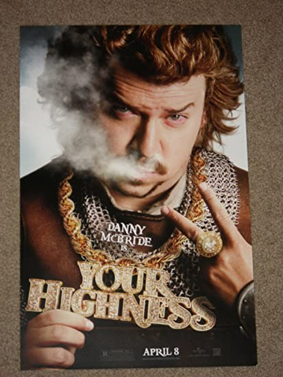Amazoncom Your Highness 11x17 Inch Ds Promo Movie Poster Prints