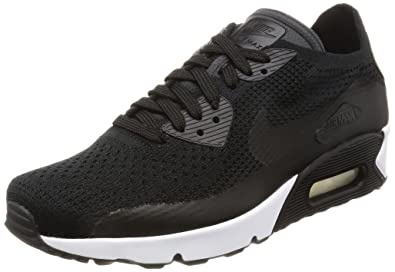 29a4fa433c Amazon.com | Nike Mens Air Max Ultra 2.0 Flyknit Running Shoe, Black ...