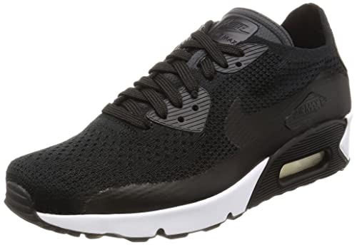 Nike Mens Air Max Ultra 2.0 Flyknit Running Shoe, Black Black-Black-White, 10.5