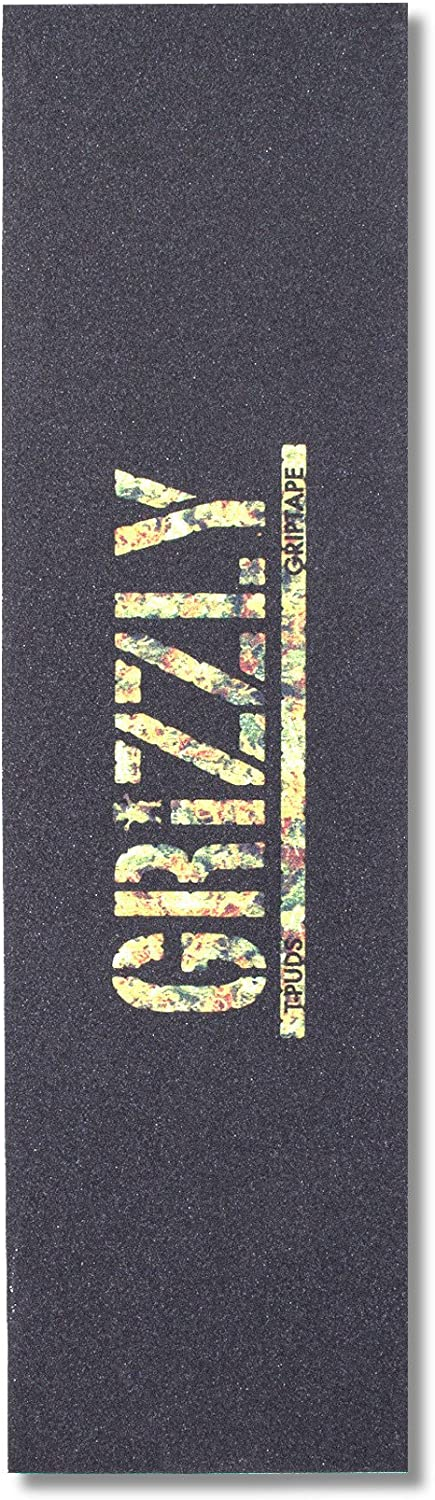 9 x 33 Grizzly Grip Tape Torey Pudwill Stamp Print Griptape