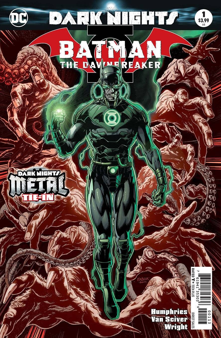 BATMAN THE DAWNBREAKER #1 3RD PRINTING VARIANT COVER