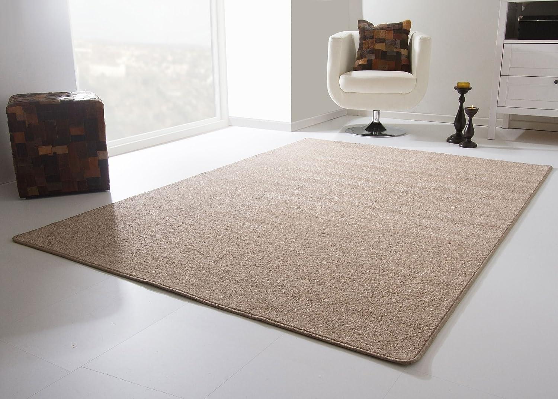 Designer Teppich Modern Bristol in Beige, GUT Siegel Zertifiziert, Größe  200x300 cm