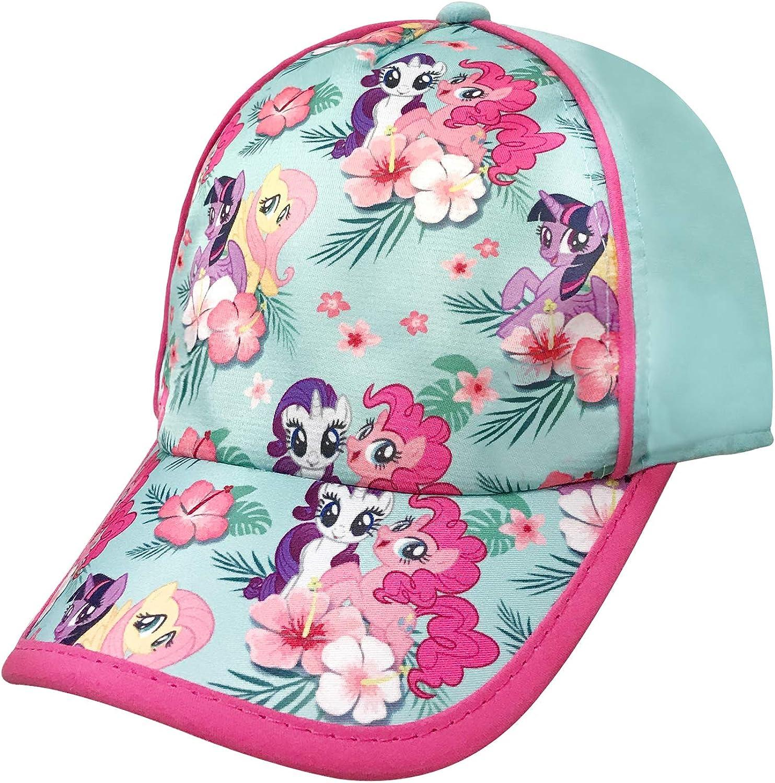 Girls Baseball Cap Pinnie, Rarity, Fluttershy, Twilight Sparkle Turquoise