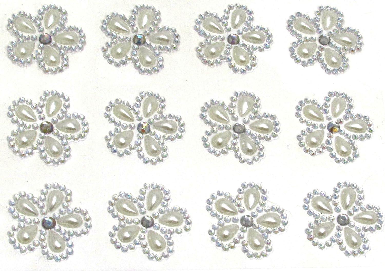 Stick on Diamante Hearts Self Adhesive Wedding,Sheet Crystal Mixed Rhinestone