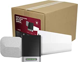 weBoost Home Complete (470145) Cell Phone Signal Booster Kit | for Home & Office | All U.S. Carriers - Verizon, AT&T, T-Mobile, Sprint & More | FCC Approved