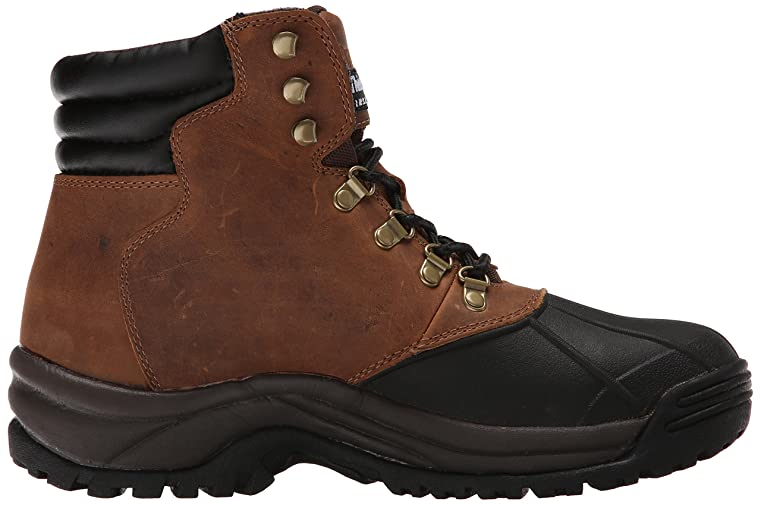 Amazon.com | Propet Men's Blizzard Midcut Boot, Brown/Black, 13 3E US |  Snow Boots