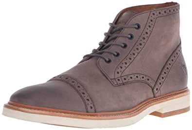 FRYE Men's Joel Brouge Chukka Boot, Charcoal, ...