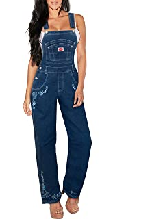 BoundOveralls Plus Size Womens Denim Bib Overalls Size 16-26 USA