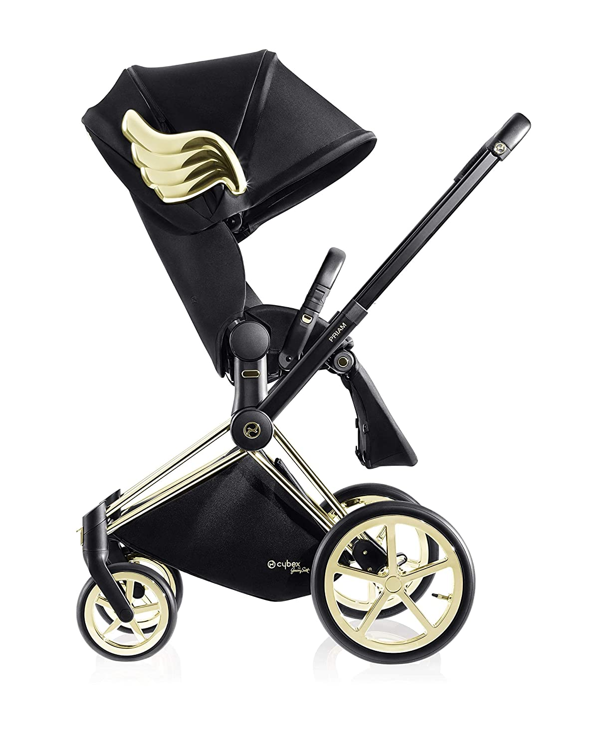 Cybex by Jeremy Scott Wings Collection Priam 3 Complete Stroller