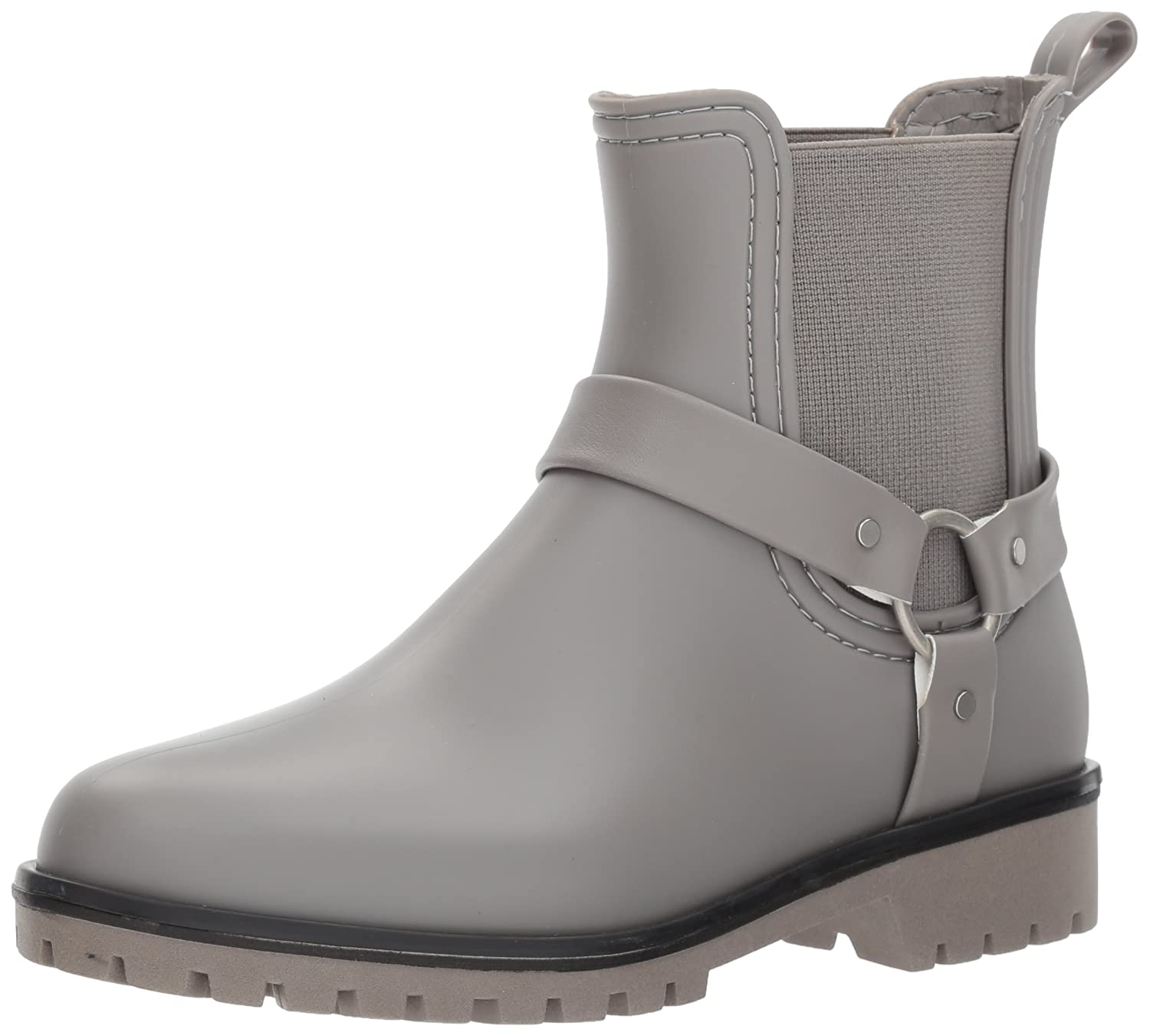 Bernardo Women's Zoe Rain Boot B06XYLYVSQ 8 B(M) US|Grey Rubber