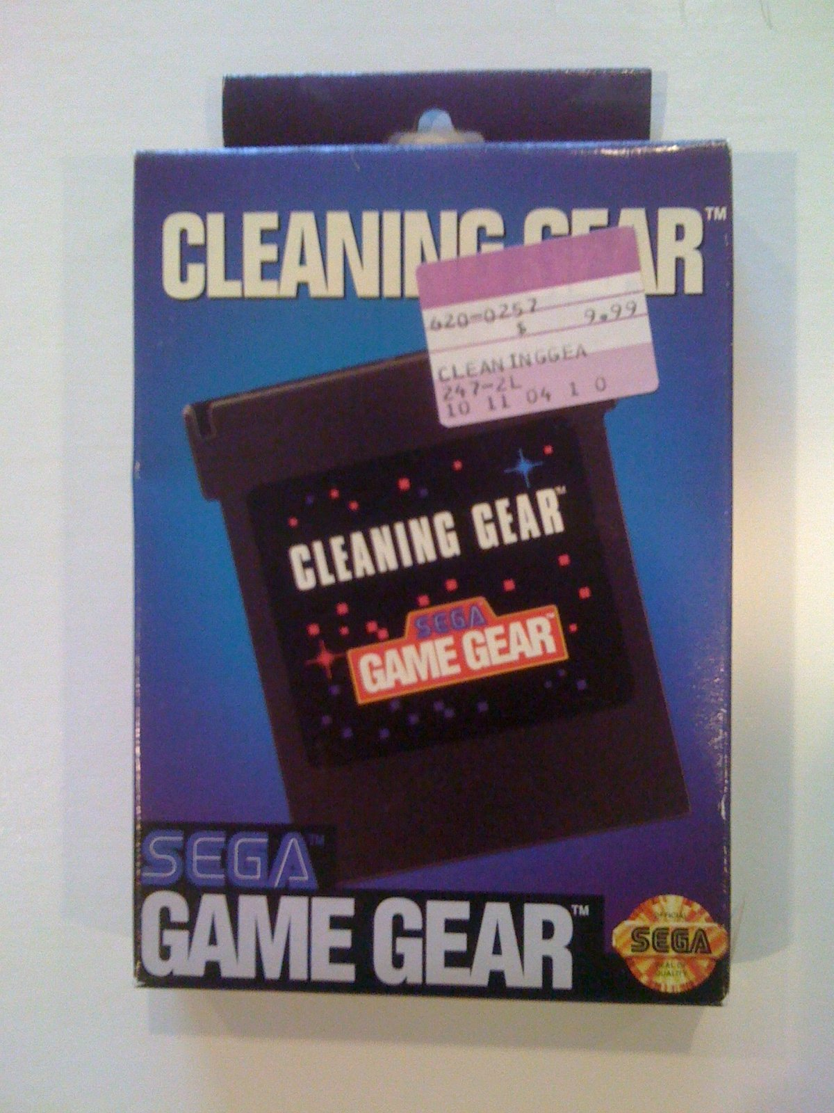 Cleaning Kit - Sega Game Gear