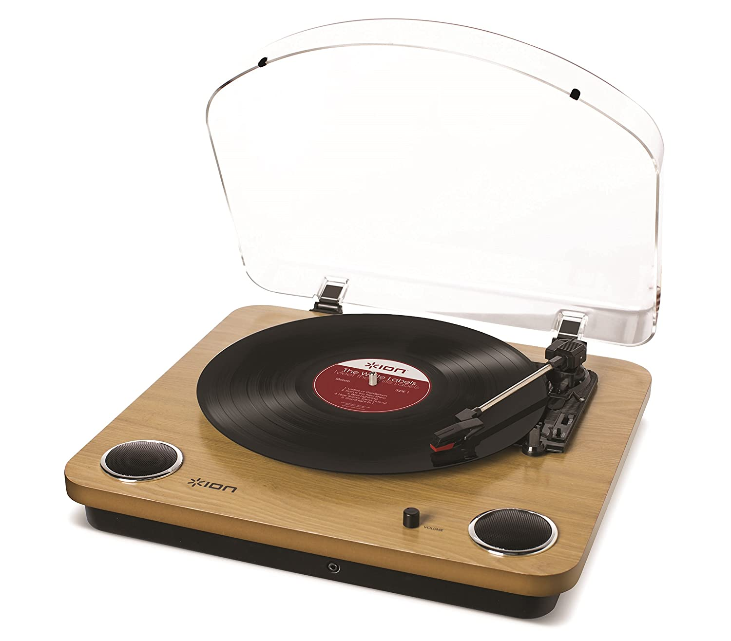 ION Audio Turntable with Built-In Speakers