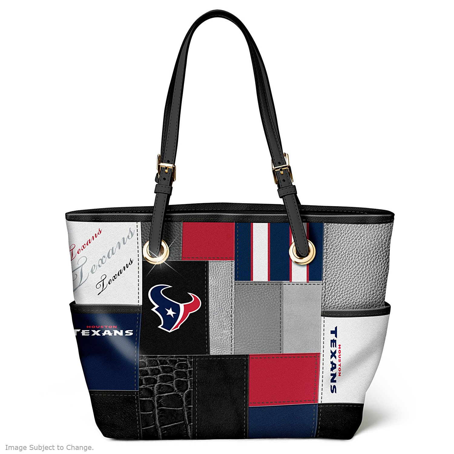 For The Love Of The Game NFL Houston Texans Tote Bag by The Bradford Exchange
