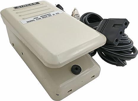Singer YC-50 - Pedal para máquina de coser: Amazon.es: Juguetes y ...