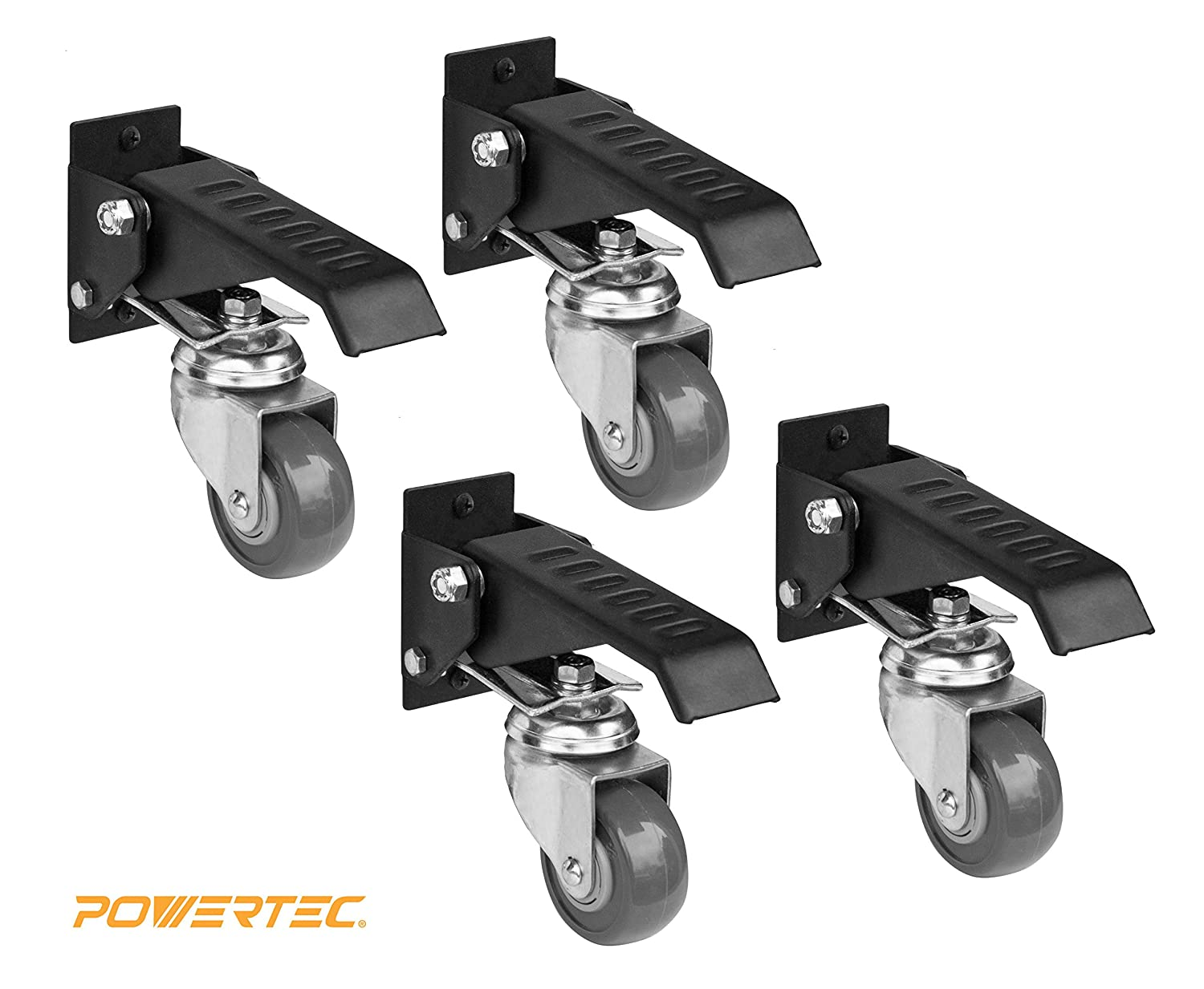 Amazon.com: POWERTEC 17000 Workbench Caster Kit (Pack of 4): Home ...