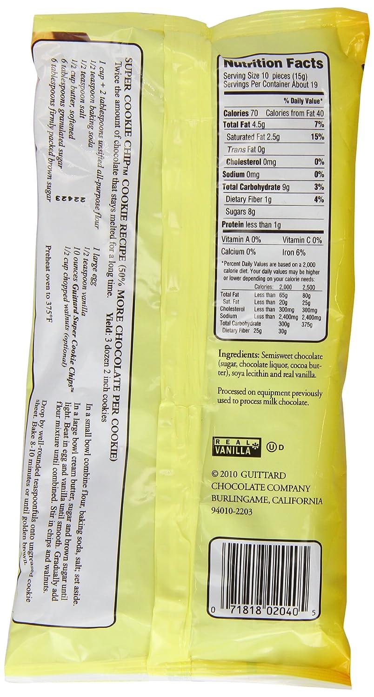 Amazon.com : E Guittard 63% Extra Dark Chocolate Chip, 11.5-Ounce ...