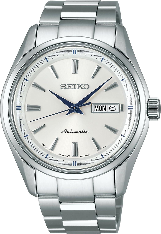 SEIKO watch PRESAGE mechanical self-winding with manual winding SARY055 Men