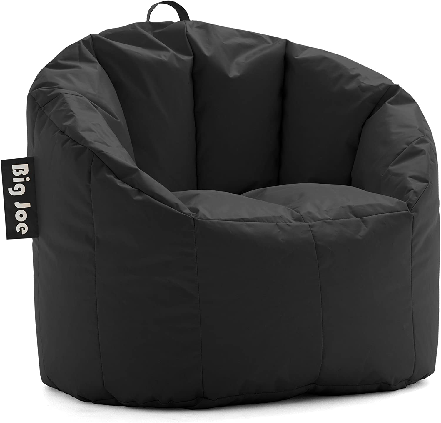 Comfort Research Milano Bean Bag Chair, Stretch Limo Black Smartmax