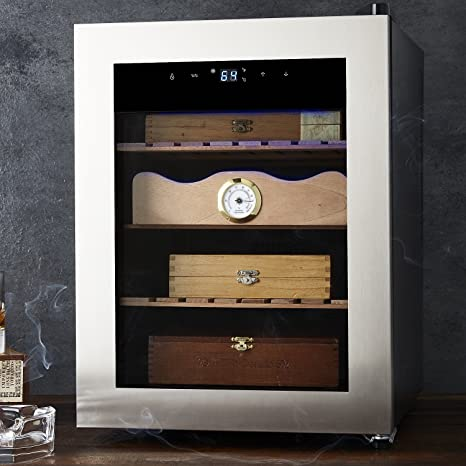 Wondrous Amazon Com Cigar Enthusiast Humidor Maintains Ideal Download Free Architecture Designs Salvmadebymaigaardcom