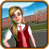 Virtual High School Girl