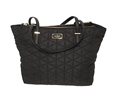 6710f6875 Amazon.com: Kate Spade New York Wilson Road Talya Shoulder Bag (Black  Quilted): Shoes