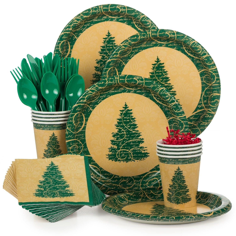 Costume Supercenter BBKIT1039 Elegant Christmas Standard Tableware Kit