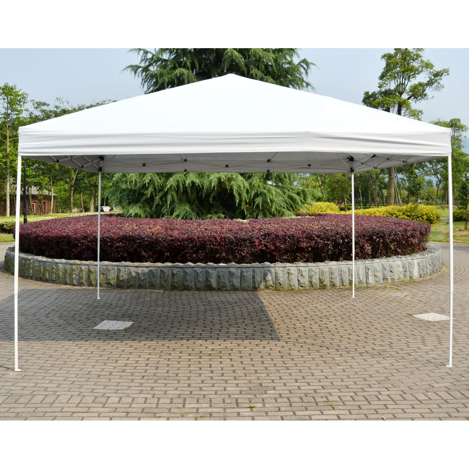 Outsunny 13 x 13 ft Pop Up Tent Outdoor Party Gazebo Patio