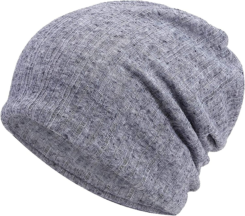 liuyunfeiyu Thin Breathable Men Women Knitted Caps Summer Bonnet Hat Solid Color Skull Caps Beanies Hedging Cap Beanie