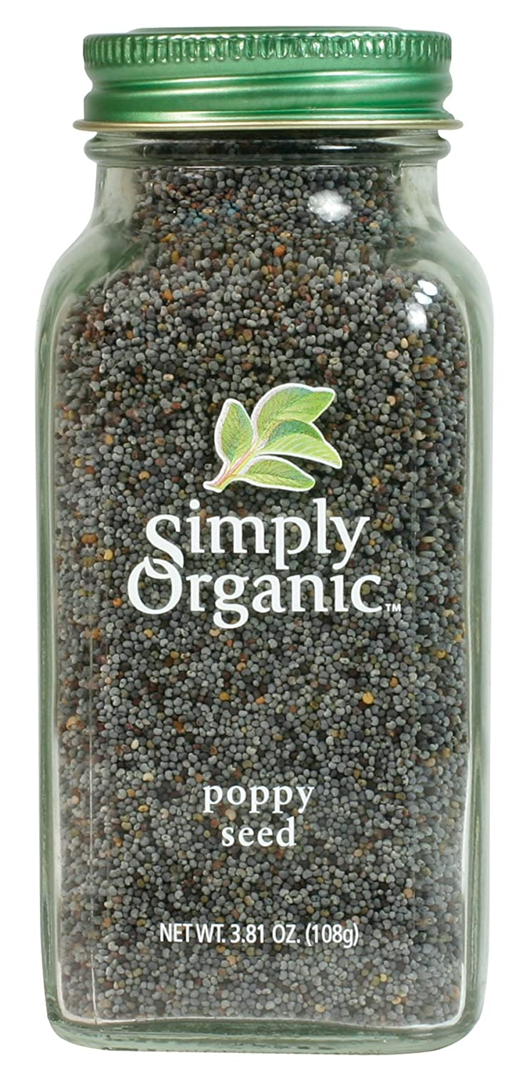 amazon com simply organic poppy seed whole certified organic 3 81