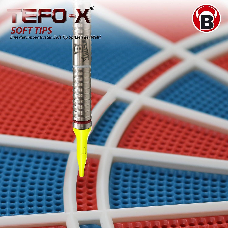 /Puntas para Puntas de Dardos : Long Bulls de Tefo X Soft/ Tipo 2BA