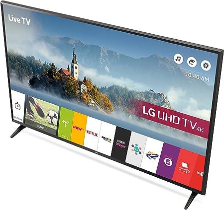 LG Electronics 49uj630v 49 Pulgadas 4k Ultra HD HDR Smart TV led (2017 Model) (actualizado): Amazon.es: Electrónica