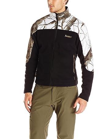 Amazon.com : Rocky Men's Rocky silenthunter fleece jacket ...