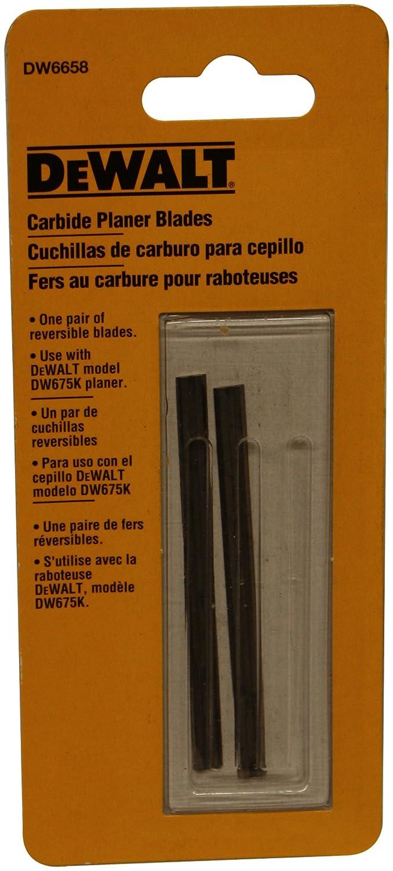DEWALT DW6658 Carbide Replacement Blades