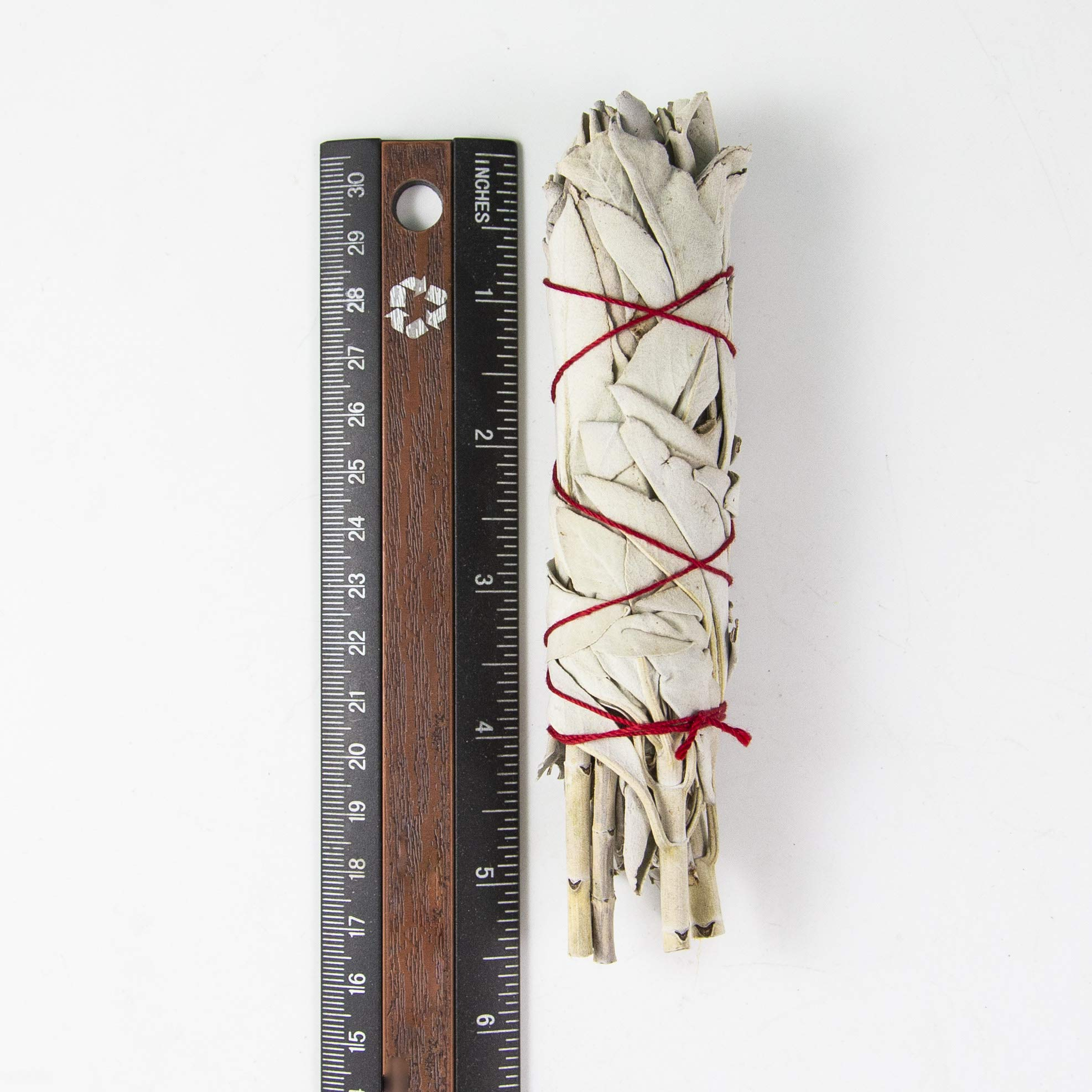 Beverly Oaks California White Sage 4'' Smudge Stick, Perfect for Smudging, Meditation, Protection and Incense, 20 Pack by Beverly Oaks (Image #3)
