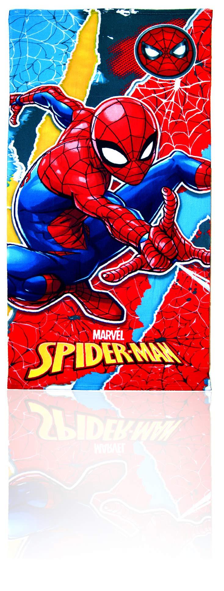 Spiderman Towel,Bath Towel,Swimming Pool,Towel,Beach Towel,Official Licensed by Marvel Spiderman. (Image #1)