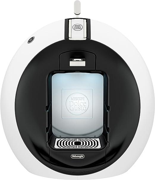 DeLonghi Circolo EDG600WH Máquina de café en cápsulas 0,6 L - Cafetera (Máquina de café en cápsulas, 0,6 L, Cápsula de café, 1460 W, Negro, Blanco): Amazon.es: Hogar