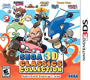 SEGA 3D Classics Collection - Nintendo 3DS
