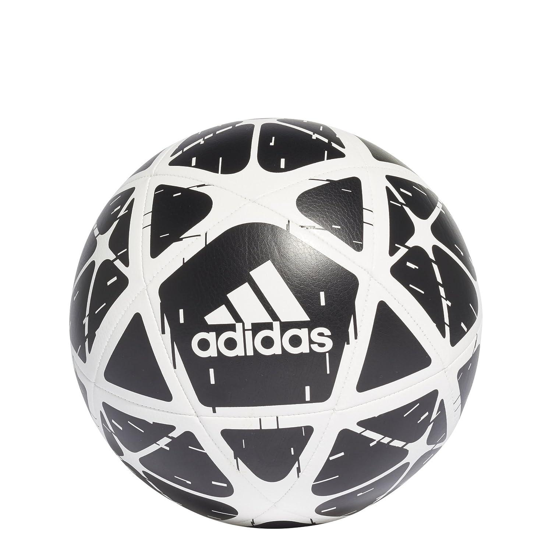 Adidasパフォーマンスグライダーサッカーボール、ブラック/ホワイト、サイズ5 B077XJ5LC9