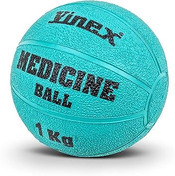 Gummimedizinball mit Ventil 1 kg bis 13 kg Robuster Medizinball aus Gummi