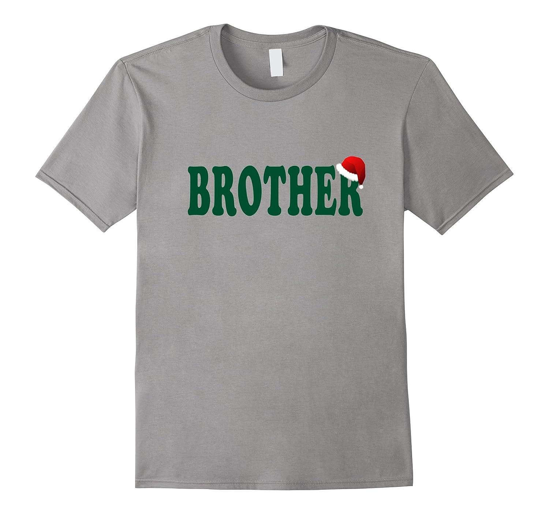 Christmas T Shirt Brother Santa Family Matching Pajamas Men-FL