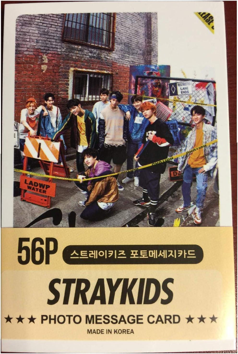 Cookiepretty1971 Kpop Straykids Transparent Photo Cards 25pcs