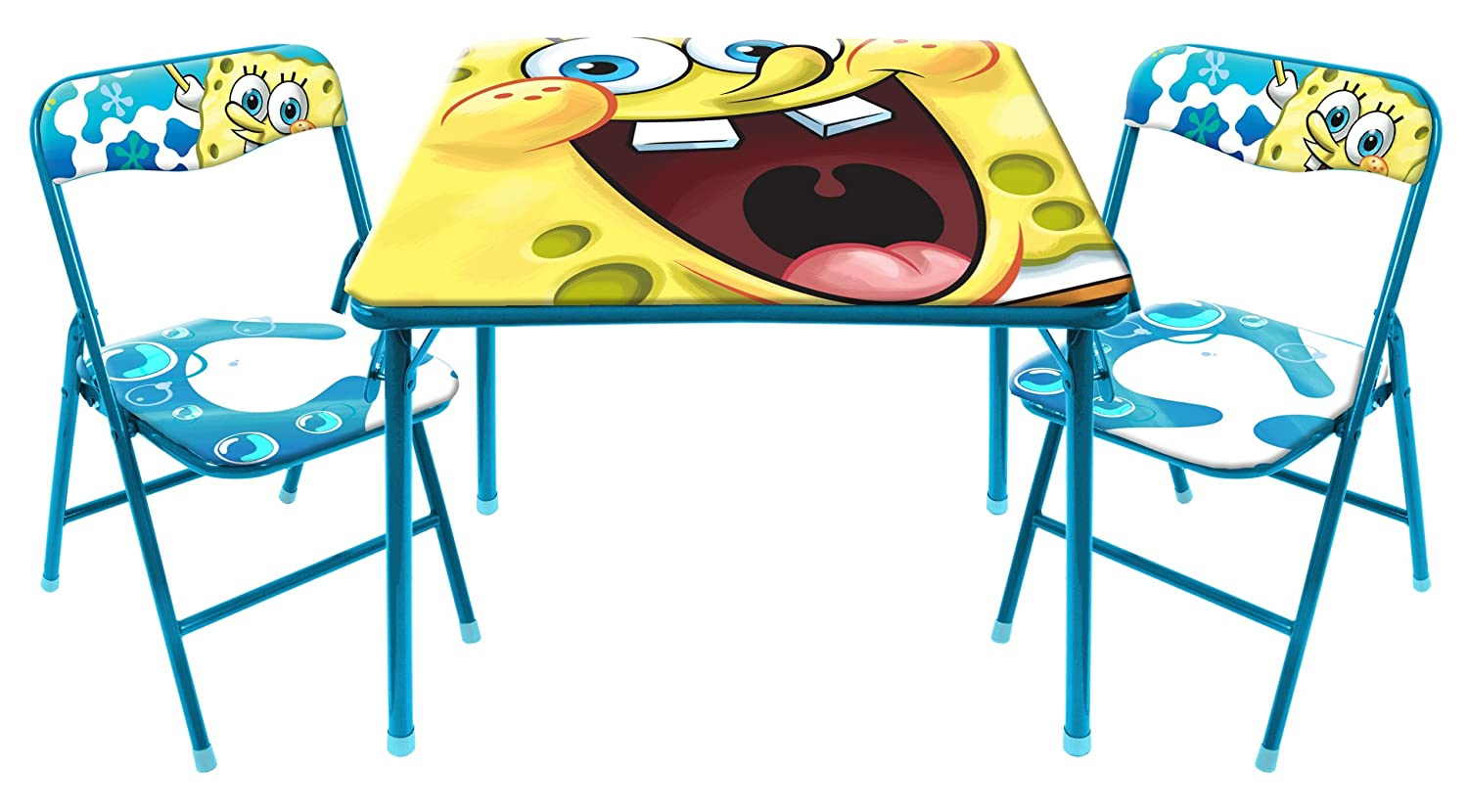 Nickelodeon SpongeBob Square Table and Chair Set Idea Nuova - LA WN300313