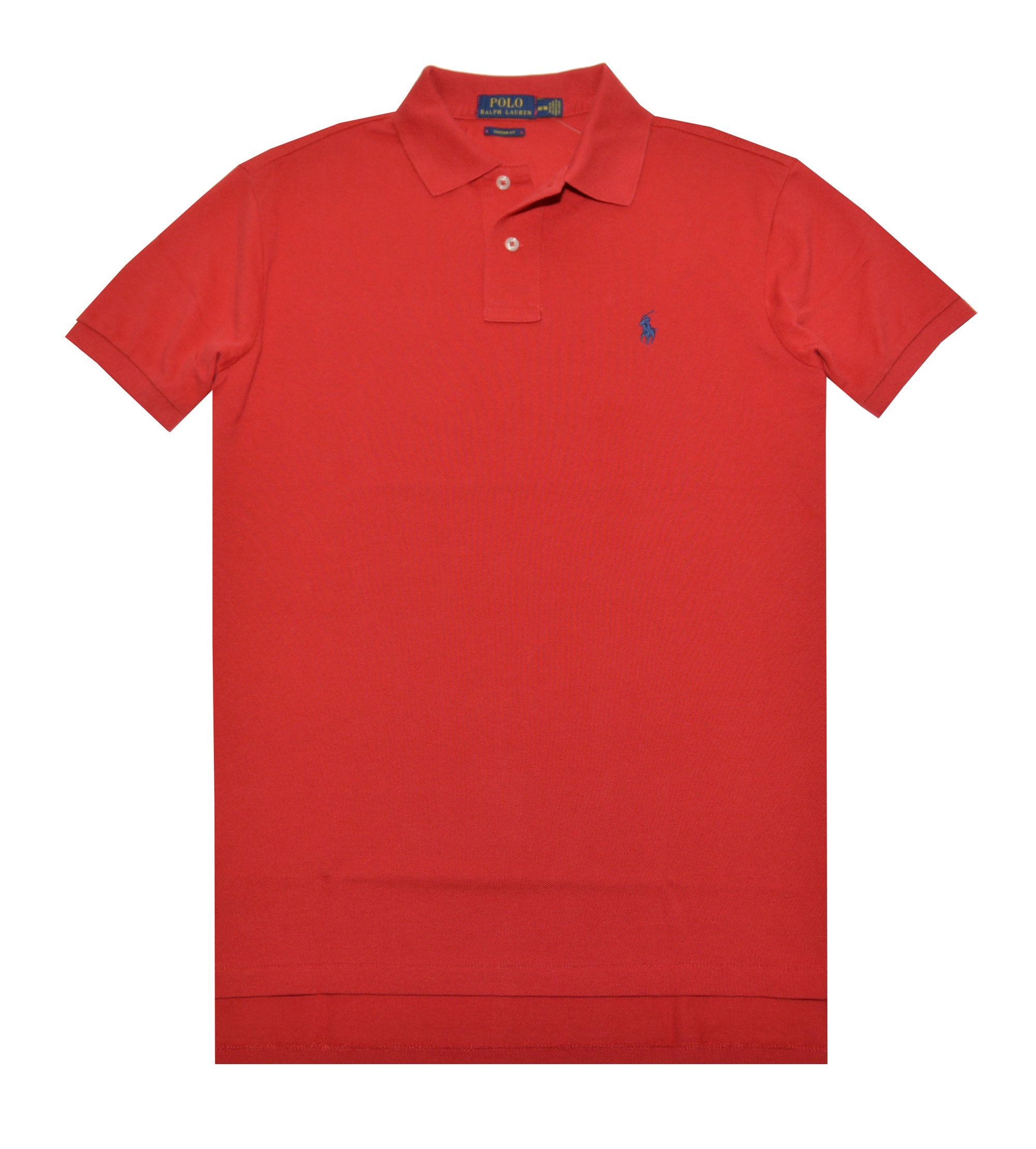 Polo Ralph Lauren Men Classic Fit Mesh Polo Shirt (X-Small, RL 2000 Red)