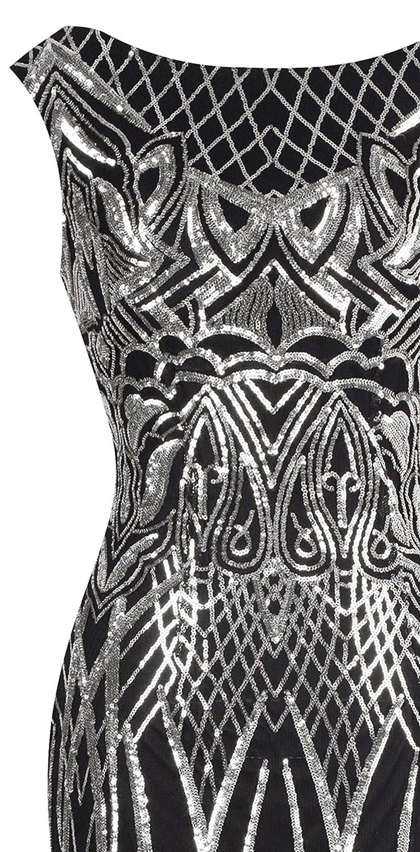 Angel-fashions Womens Unique Strapless Paillette Tree Branch Net Mermaid Gown Dress