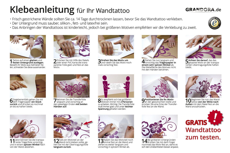 Grandora W1008 Wandtattoo Herz Engelsflügel mit harter und zarter Seite Seite Seite dunkelrot (BxH) 170 x 47 cm B00NBTZ34A Wandtattoos & Wandbilder 30820d